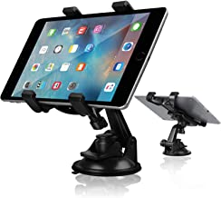 Car Tablet Holder, Linkstyle Tablet Dash Mount Holder for Car Windshield Dashboard Universal Tablet Car Mount with Suction Cup Compatible for Samsung Galaxy Tab/iPad Mini Air 4 3(All 7-10.5