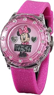 Minnie Mouse Light up Pink Digital Watch