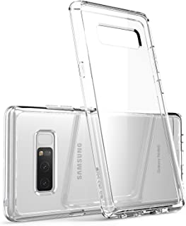 i-Blason Case Designed for Galaxy Note 8 2017 Release, [Scratch Resistant] Clear [Halo Series] Hybrid Bumper Case Cover (C...