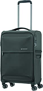Samsonite 92326 72 Hours DLX Spinner Soft Side Suitcase, Platinum Grey, 55 Centimeters