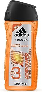 Adidas Adipower Shower Gel for Men, 3 in 1 - 250 ml