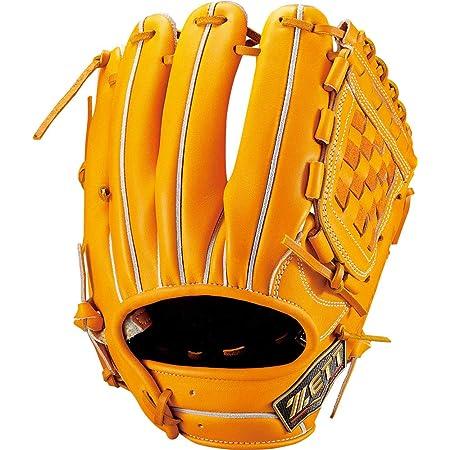 ZETT(ゼット) 硬式野球 グラブ (グローブ) プロステイタス SEシリーズ セカンド・ショート用 右投げ用 サイズ:4 日本製 専用グラブ袋付き BPROG06S