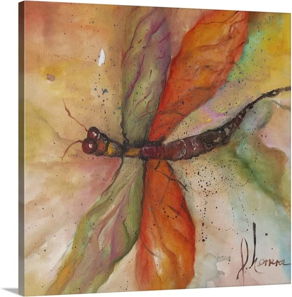 Dragonfly Tango Canvas Wall Insects Print Ranking 67% OFF of fixed price TOP16 Artwork Art