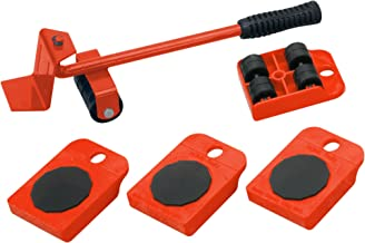 MeisterFurniture Moving Roller Set 419900, 5 Pieces