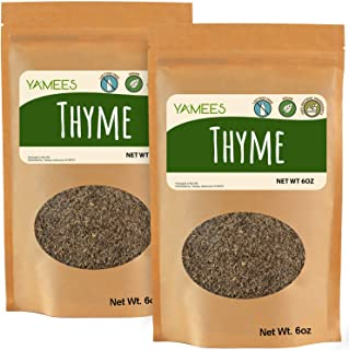 Sponsored Ad - Yamees Dry Herbs – BULK Thyme – Choose Your Custom Variety Pack - Bulk Spices (12 Ounce)