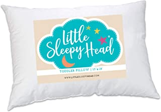 Best Toddler Pillow - Soft Hypoallergenic - Best Pillows for Kids! Better Neck Support and Sleeping! They Will Take a Better Nap in Bed, a Crib, or Even on the Floor at School! Makes Travel Comfier! Review