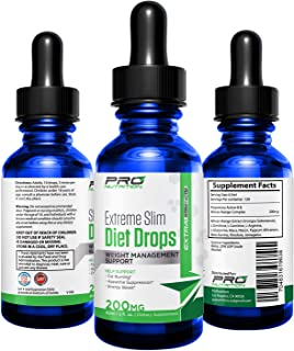 Diet Drops- Maximum Strength, All Natural Appetite Control Suppressant. Makes You Feel Full. Burn More Calories & Lose Stubborn Belly Fat. Boost Energy & Increases Metabolism for Both Men & Women.