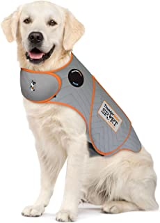 Thundershirt Sport Dog Anxiety Jacket | Vet Recommended Calming Solution Vest for Fireworks, Thunder, Travel, Separation
