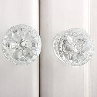 IndianShelf 10 pieza hecho a mano tiradores de puerta de cristal perillas aparador cajón asas decorativa en línea