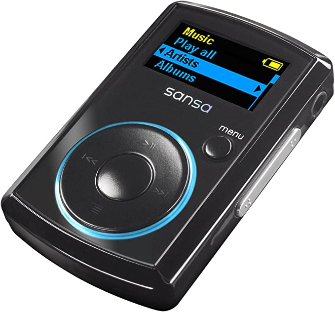 Sandisk Sansa Clip Portable Mp3 Player With Built In Fm Tuner Black Mp3 Hifi