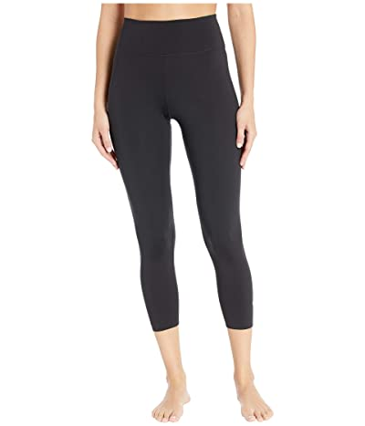 Nike One Luxe Tights Crop (Black/Clear) Women