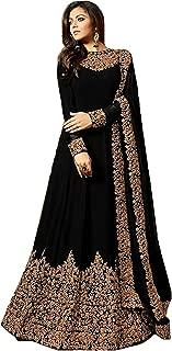 PristiveFashionHub Women's Codding Long Anarkali Gown With Duppta(Free Size)