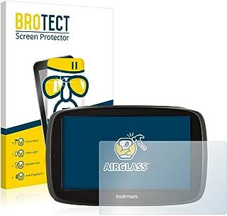 BROTECT Protector Pantalla Cristal Compatible con Tomtom GO 51 Protector Pantalla Vidrio Dureza 9H AirGlass