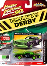 Johnny Lightning 1:64 Street Freaks Ver A 1977 Chevy Monte Carlo Green/Black