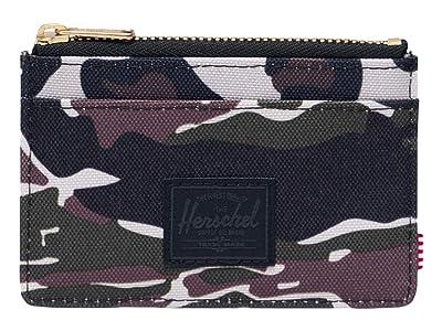 Herschel Supply Co. Oscar RFID (Tiger Camo/Leopard) Wallet Handbags