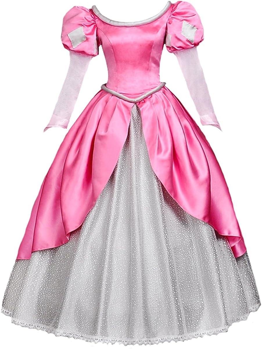 Angelaicos Womens Princess 新着 卓抜 Dress Lolita Costume Layered Ba Party
