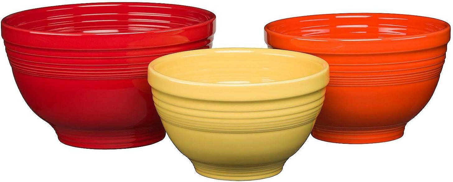 Homer Laughlin Baking Bright Free Shipping New Set Discount mail order Bowl