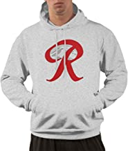 Hoodie for Men Classic Baseball Men's Hoodies with Rainier Beer Capital R Mountain Pattern