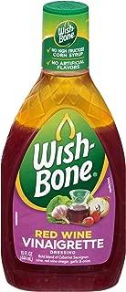 Wish-Bone, Salad Dressing, Red Wine Vinaigrette, 15 Ounce Bottle (Pack of 3)