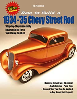 How to Build 1934-'35 Chevy St RodsHP1514: Step-by-Step Assembly Instructions for a 1934 Chevy Replica (English Edition)