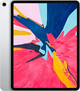 """Apple iPad Pro 12.9"""" (2018 - 3rd Gen), Wi-Fi + Cellular, 512GB, Silver [With Facetime]"""