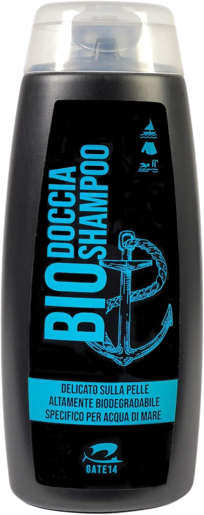 67 opinioni per GATE 14 Doccia Shampoo Bio Altamente Biodegradabile specifico per Acqua di Mare