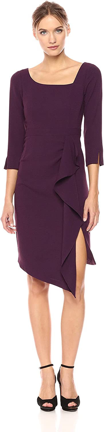 Nanette Lepore Womens Can Can Dress Business Casual Dress