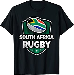 South Africa Rugby T-Shirt South African Rugby Enthusiasts