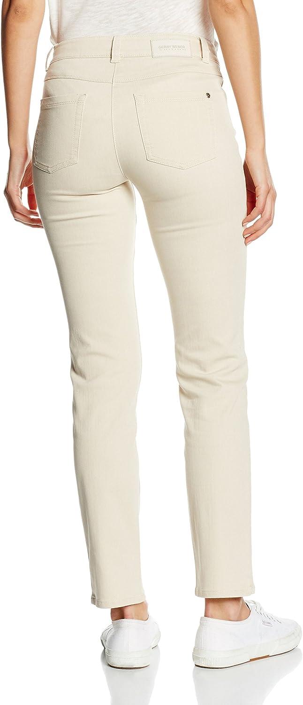 Gerry Weber Jeans Femme Beige - Beige (Beige Denim 98100)