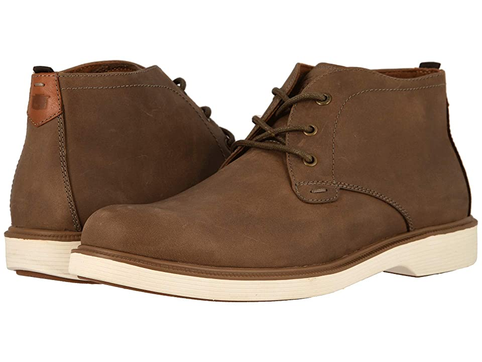 Florsheim Supucush Plain Toe Chukka Boot (Mushroom Crazy Horse) Men