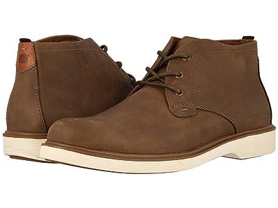 Florsheim Supucush Plain Toe Chukka Boot (Mushroom Crazy Horse) Men