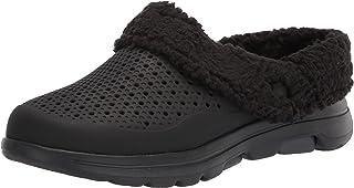 Skechers Men's Foamies Go Walk 5-Relax Clog, Black/Grey, 12