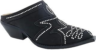 حذاء نسائي من Penny Loves Kenny من الجلد الصناعي باللون الأسود مقاس 9 (D) الولايات المتحدة