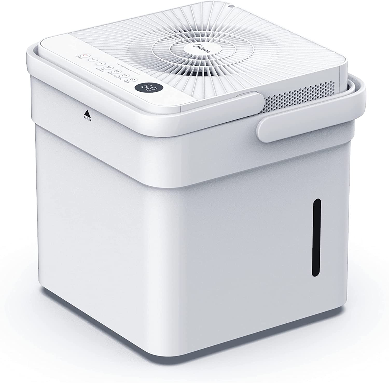Midea Cube Long Beach Mall 35 Pint Dehumidifier with Smart Translated 50 3 up to For Wi-Fi
