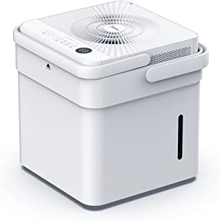 Midea Cube 35 Pint Dehumidifier with Smart Wi-Fi, For up to 3,500 Sq. Ft.-Compact Size for Home, Basements, Medium-sized R...