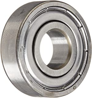 SKF 6000-2Z/LHT23 Deep Groove Ball Bearing, Double Shielded, Standard Cage, Normal Clearance, 10mm Bore , 26mm OD, 8mm Width