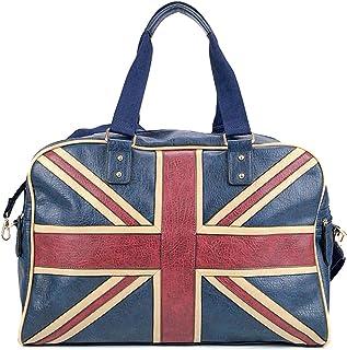 Eleccio Bella Borsa impermeabile da palestra da viaggio bagaglio da cabina bandiera Inghilterra 30 litri