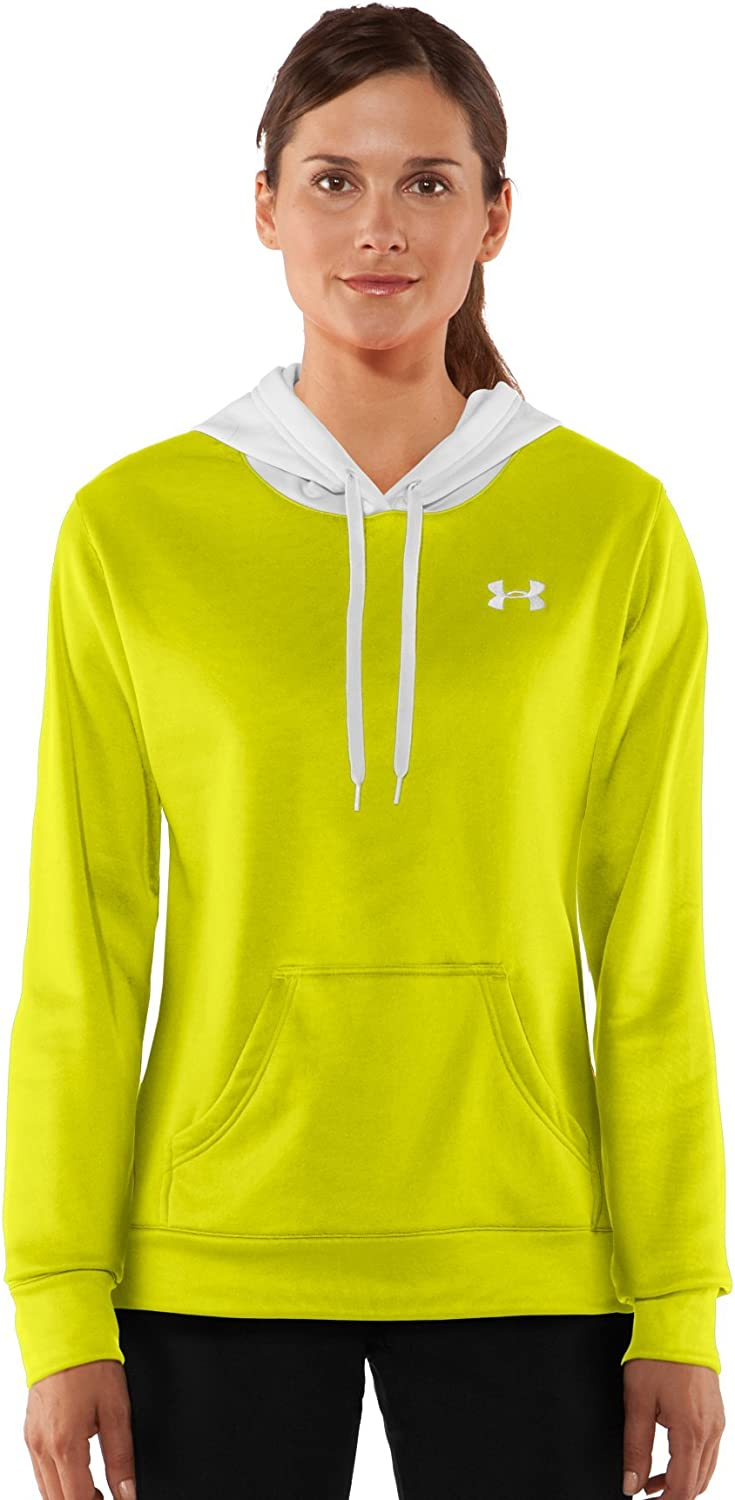 Women's Armour174; Fleece Divide Hoody Tops by Under Armour Small Bitter