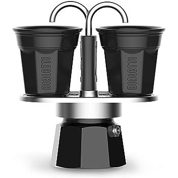 Bialetti - Cafetera de 2 tazas Nueva colección Negro: Amazon.es: Hogar
