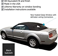 Best 2006 mustang convertible rear window replacement Reviews