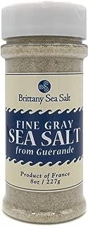 Fine Gray Sea Salt From Guérande 8 Oz Shaker Bottle