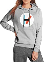 Pesxist96 Female Sweatshirt Funny Hoodies Outdoor Drawstring Sleeve ComfortSoft Pullover