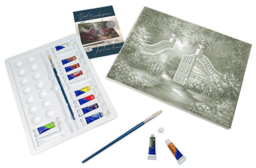 Royal & Langnickel Paint Your Own Masterpiece Painting Set, Garden Gate