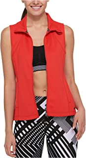 Tommy Hilfiger Women's Perforated Zip-Front Vest