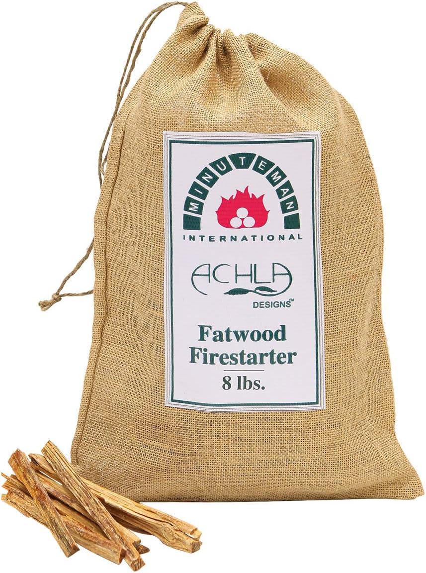 Minuteman International mart Fatwood Sticks Caddy Topics on TV Holder Refill 8-Po