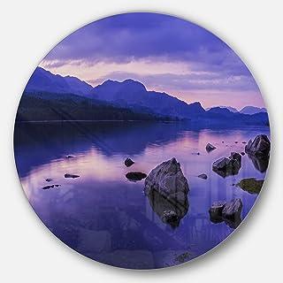 Designart Metal wall Art - Disc of 23, 23X23-Disc of 23 inch