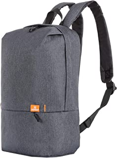 HAWEEL 10L Anti-Theft Backpack, Classic Simple School Bag Colorful Unisex Waterproof Minimalist Urban Backpack Leisure Chest Pack (Grey)