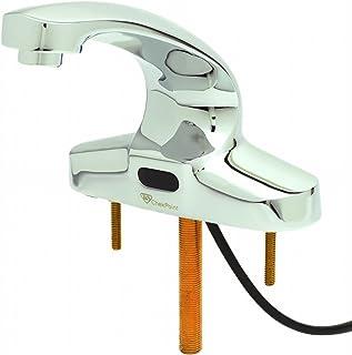 T&S Brass EC-3103-LMV Checkpoint Electronic Faucet, 4-Inch Centerset Cast Spout