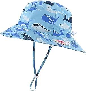 Home Prefer Kids UPF50+ Safari Sun Hat Breathable Bucket...