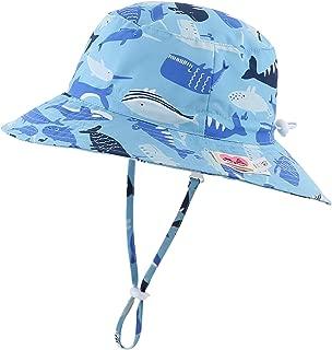 Kids UPF50+ Safari Sun Hat Breathable Bucket Hat Summer...